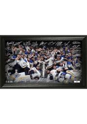 St Louis Blues Signature Rink Plaque Plaque