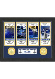 St Louis Blues Champions Ticket Plaque Plaque