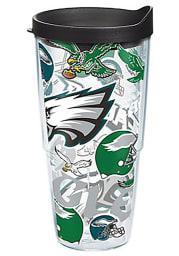 Philadelphia Eagles All Over Logo 24oz Tumbler