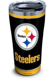 Tervis Tumblers Pittsburgh Steelers Touchdown 20oz Stainless Steel Tumbler - Black