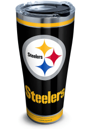 Tervis Tumblers Pittsburgh Steelers Touchdown 30oz Stainless Steel Tumbler - Black