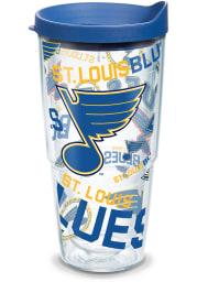 St Louis Blues All Over Wrap 24oz Tumbler