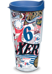 Philadelphia 76ers All Over Wrap 24oz Tumbler