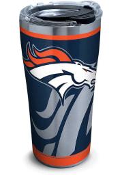 Tervis Tumblers Denver Broncos Rush 20oz Stainless Steel Tumbler - Navy Blue