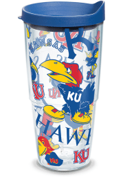Kansas Jayhawks 24oz All Over Tumbler