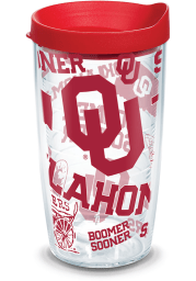Oklahoma Sooners 16oz All Over Tumbler
