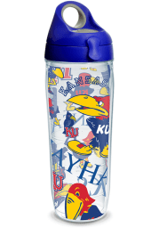 Kansas Jayhawks 24oz All Over Water Bottle