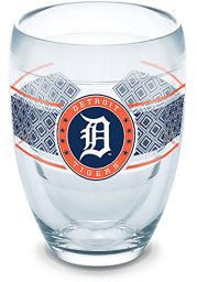Detroit Tigers Reserve Wrap Stemless Wine Glass