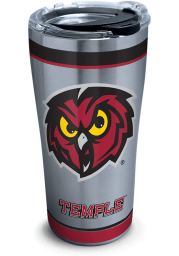 Tervis Tumblers Temple Owls 20oz Tradition Stainless Steel Tumbler - Maroon