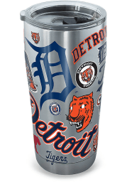 Tervis Tumblers Detroit Tigers 20oz Stainless Steel Tumbler - Grey