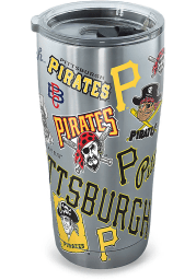 Tervis Tumblers Pittsburgh Pirates 20oz Stainless Steel Tumbler - Grey