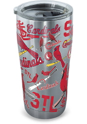 Tervis Tumblers St Louis Cardinals 20oz Stainless Steel Tumbler - Grey