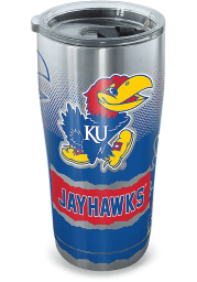 Tervis Tumblers Kansas Jayhawks 20oz Stainless Steel Tumbler - Grey