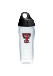 Texas Tech Red Raiders 24oz Clear Water Bottle