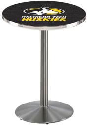 Michigan Tech Huskies L214 36 Inch Pub Table