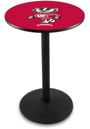 Wisconsin Badgers L214 36 Inch Pub Table
