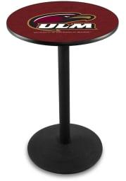 Louisiana-Monroe Warhawks L214 42 Inch Pub Table