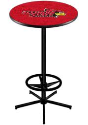 Illinois State Redbirds L216 42 Inch Pub Table