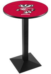 Wisconsin Badgers L217 36 Inch Pub Table
