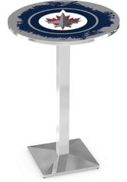 Winnipeg Jets L217 36 Inch Pub Table