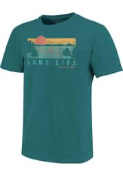 Missouri Teal Like Life Short Sleeve T Shirt