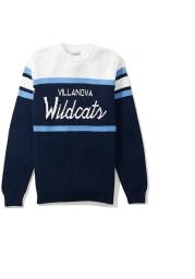 Villanova Wildcats Mens Navy Blue Tailgating Long Sleeve Sweater