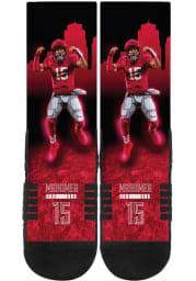 Patrick Mahomes Kansas City Chiefs Premium Full Sublimated Hometown Mens Crew Socks