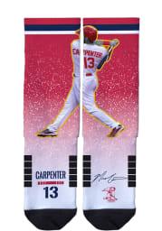 Matt Carpenter St Louis Cardinals Action Mens Crew Socks