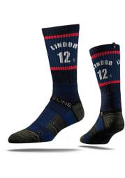 Francisco Lindor Cleveland Indians Sherzy Mens Crew Socks