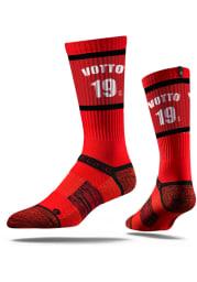 Joey Votto Cincinnati Reds Sherzy Mens Crew Socks