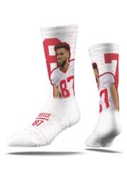 Travis Kelce Kansas City Chiefs Player Mens Crew Socks