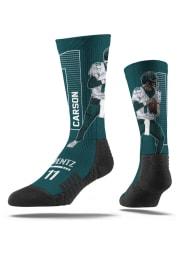 Carson Wentz Philadelphia Eagles Player Mens Crew Socks