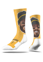 Ben Roethlisberger Pittsburgh Steelers Player Mens Crew Socks