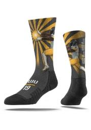 JuJu Smith-Schuster Pittsburgh Steelers Player Mens Crew Socks