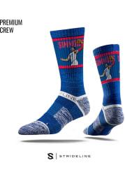 Ben Simmons Philadelphia 76ers Action Mens Crew Socks