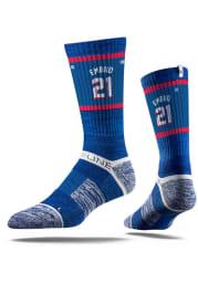 Joel Embiid Philadelphia 76ers Sherzy Mens Crew Socks