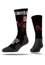 Baker Mayfield Cleveland Browns Danger Zone Mens Crew Socks