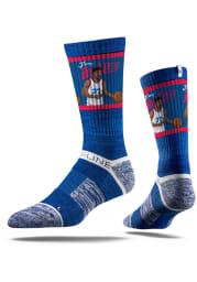 Jimmy Butler Philadelphia 76ers Action Mens Crew Socks