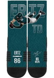 Zach Ertz Philadelphia Eagles Action Mens Crew Socks