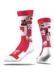 Kansas City Chiefs Strideline Action Mens Crew Socks