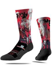 Patrick Mahomes Kansas City Chiefs Super Hero Mens Crew Socks