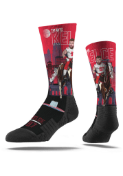 Travis Kelce Kansas City Chiefs Super Hero Mens Crew Socks