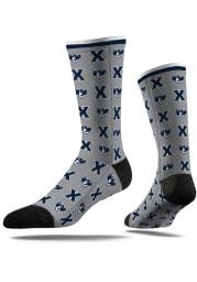 Xavier Musketeers Step and Repeat Mens Dress Socks