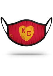 Strideline Kansas City Monarchs Yellow Heart Fan Mask