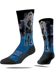 Luka Doncic Dallas Mavericks Super Hero Mens Crew Socks