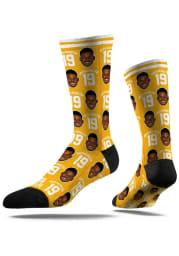 Pittsburgh Steelers Allover Print Mens Dress Socks