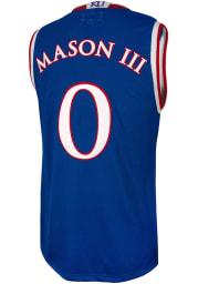 Frank Mason Original Retro Brand Kansas Jayhawks Blue College Classic Name and Number Jersey