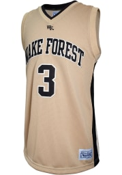 Chris Paul Original Retro Brand Wake Forest Demon Deacons Gold College Classic Name and Number Jersey
