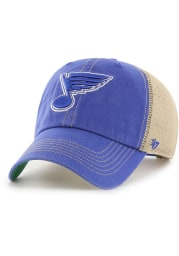 47 St Louis Blues Trawler Clean Up Adjustable Hat - Blue