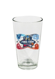 Oklahoma Sooners 4 Team Pint Glass